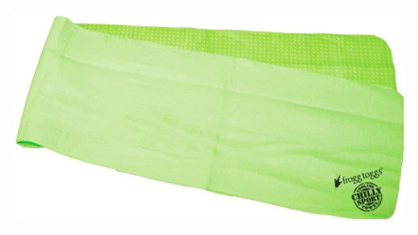 Frogg Toggs Cooling Towel - Head Band Chilly-sport Green<