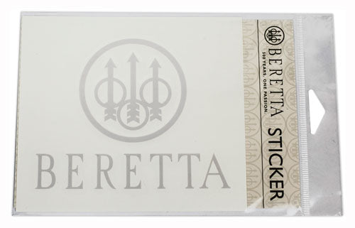 Beretta Trident Decal-white -