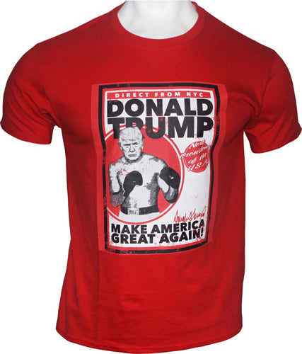 Gi Men's T-shirt Trump Direct - From Nyc Xx-large Red