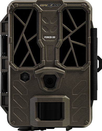 Spypoint Trail Cam Force 20mp - Hd Video Low Glow Brown