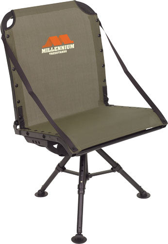 Millennium Ground Blind Chair - W- Packable Leveling Legs