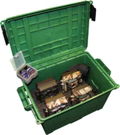 Mtm Game Trail Camera Case W- - Sd Card Holder Holds 4 Cameras