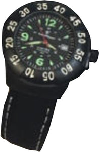S&w Men's Extreme Ops Watch - Black Rubber Wrist Strap