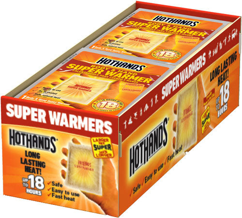 Hothands Body & Hand Super - Warmer 40 Pack 18 Hour