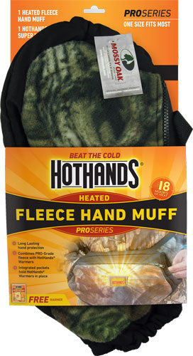 Hothands Heated Hand Muff - Mossy Oak Break Up W-free Wrmr