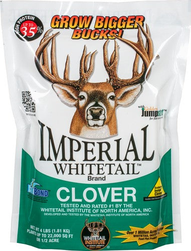 Whitetail Institute Imperial - Clover 1-2 Acre 4lb Sprng-fall