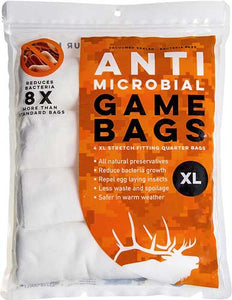 Koola Buck Anti-microbial Elk - Quarter Bag 4-pack