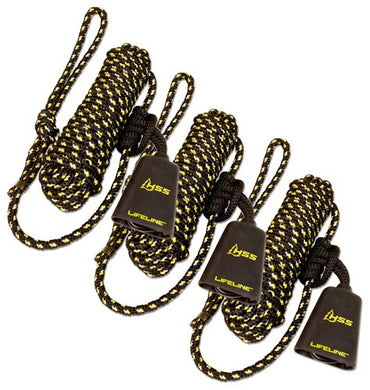 Hss Lifeline 30' W-single - Carabiner 3pk