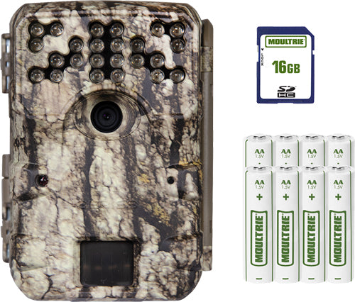Moultrie Trail Cam A-900 30mp - Infrared W-16gb Card-batteries