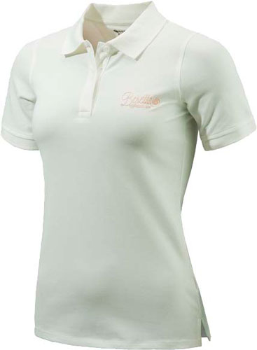 Beretta Women's Corporate - Patch Polo Large White