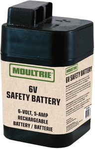 Moultrie Battery Rechargeable - 6-volt 5-amp Safety Sealed