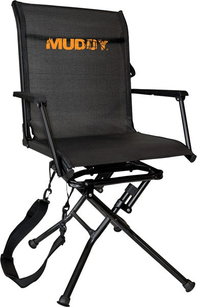 Muddy Swivel-ease Folding - Ground Seat W-flex Tek Seat