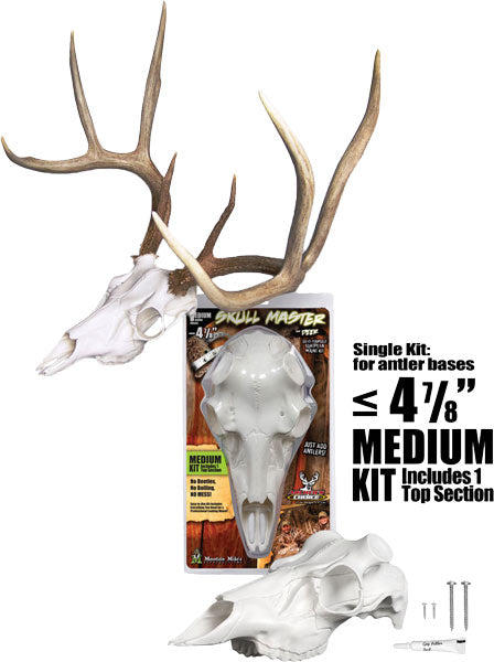 Mountain Mike's Deer Skull Kit - Skull Master Medium