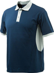 Beretta Men's Silver Pigeon - Polo Blue Navy-silver Medium