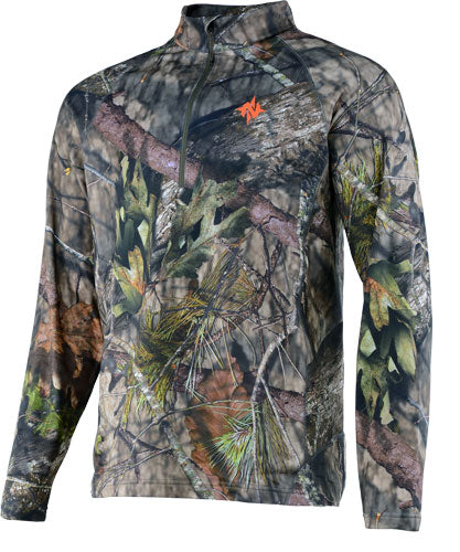 Nomad Transition 1-4 Zip Mossy - Oak Bu Country Large