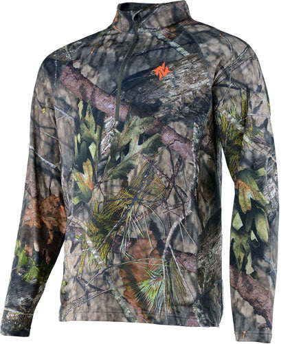 Nomad Transition 1-4 Zip Mossy - Oak Bu Country Medium