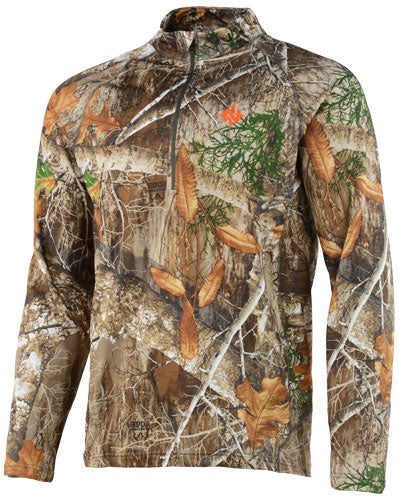 Nomad Transition 1-4 Zip - Realtree Edge Medium
