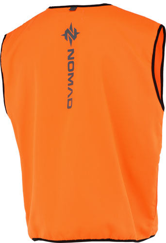 Nomad Blaze Orange Vest W- - Nomad Logo On Back Small-med