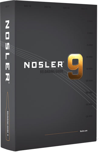 Nosler Reloading Guide - 9th Edition