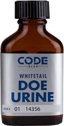 Code Blue Deer Lure Doe - Urine 1fl Ounce Bottle