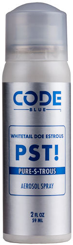 Code Blue Deer Lure Pst Pure- - S-trous 2fl Oz. Aerosol