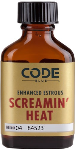 Code Blue Deer Lure Enhanced - Estrus Screamin Heat 1fl Oz.