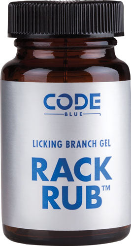 Code Blue Deer Lure Rack - Rub Licking Branch Gel 2oz.