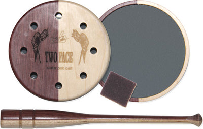 Pittman Game Calls Two Face - Slate Pot Turkey Call