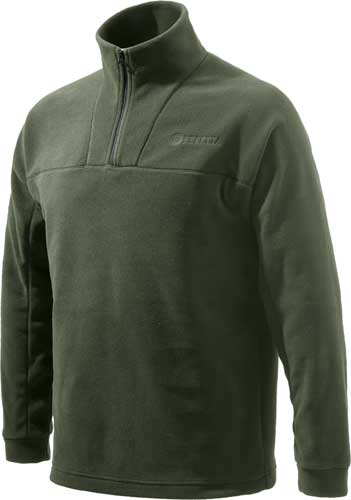 Beretta Jacket Fleece 1-2 Zip - 3x-large Dark Green