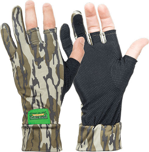 Primos Stretch Fit Fingerless - Glove Mossy Oak Bottomland