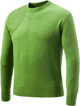 Load image into Gallery viewer, Beretta Men's Classic Round - Neck Sweater X-large Lgt Grn