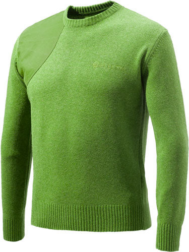 Beretta Men's Classic Round - Neck Sweater X-large Lgt Grn