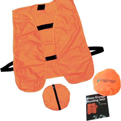 Frogg Toggs Hunting Vest Blaze - Orange One Size Fits Most
