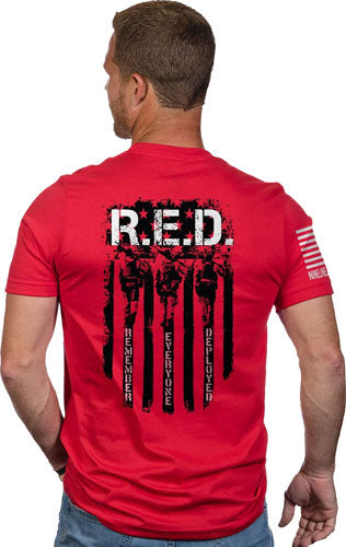 Nine Line Apparel Remember - Everyone Deployed Men's T Xlrg