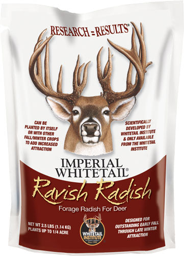 Whitetail Institute Ravish - Radish 1-4 Acre 2.5lbs Fall