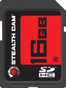 Stealth Cam Sdhc Memory Card - 16gb Super Speed Class 10