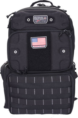 Gps Tactical Range Backpack - Tall W-waist Strap Black Nylon
