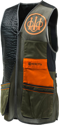 Beretta Men's Two Tone Vest - Xx-large Green-black