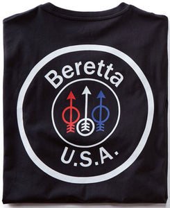 Beretta T-shirt Usa Logo - 3x-large Black
