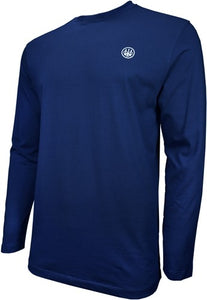 Beretta T-shirt Long Sleeve - Usa Logo 2x-large Navy Blue