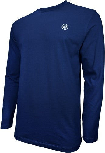 Beretta T-shirt Long Sleeve - Usa Logo 3x-large Navy Blue