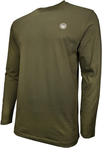 Beretta T-shirt Long Sleeve - Usa Logo 3x-large Od Green