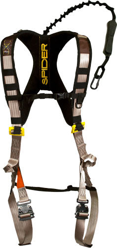 Tree Spider Safety Harness - Speed Harness L-xl Black