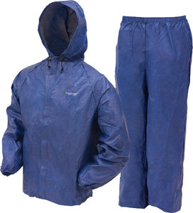 Frogg Toggs Rain Suit Mens - Ultra-lite-2 Large Blue