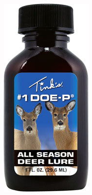 Tinks Deer Lure #1 Doe-p Non - Estrus W-mini Bomb 1fl Ounce