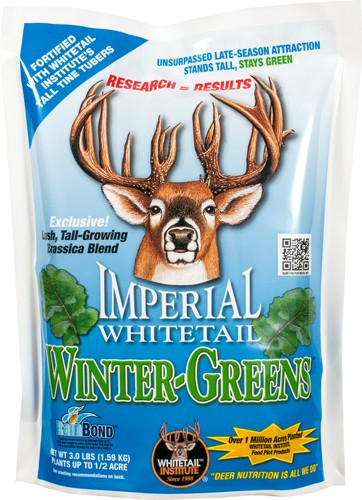 Whitetail Institute Winter- - Greens 1-2 Acre 3lbs Fall