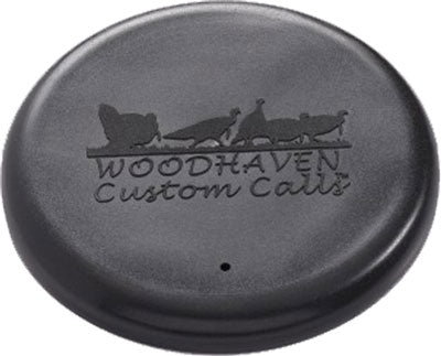 Woodhaven Custom Calls Surface - Saver Lid Black For Pot Calls