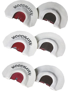 Woodhaven Custom Calls The Red - Zone 3-pack Mouth Calls