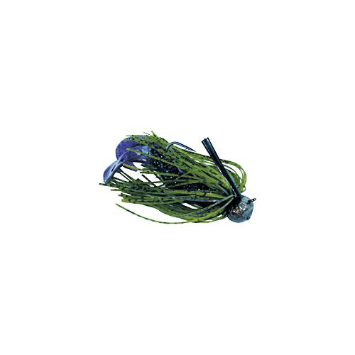 Jewel Football Jig 5-8 oz Black- Blue Flash FJ725