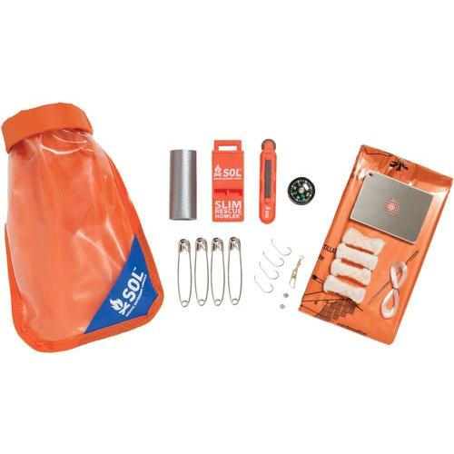 Amk Sol Scout Survival Kit W- - Dry Bag Mirrorsparker & More
